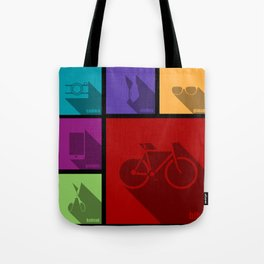 creative hipster accessories Tote Bag