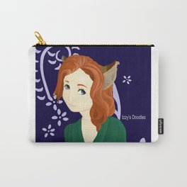 Kitsune Girl Carry-All Pouch