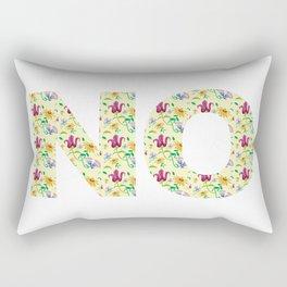 No Thanks, Pal Rectangular Pillow
