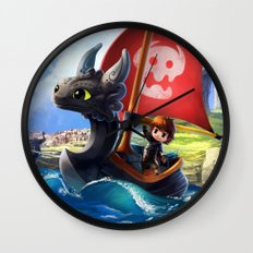 The Dragon Waker Wall Clock