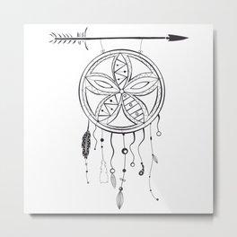 Dreamcatchr Metal Print
