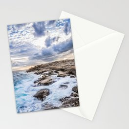 Crashing Waves At Prospect, Nova Scotia #3 Stationery Cards