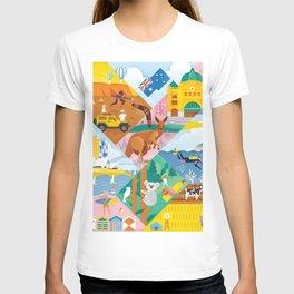 Travel To Australia T-shirt
