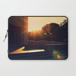 Pennsylvania State Museum with Sun Flare Laptop Sleeve