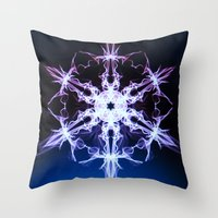stargate Throw Pillows featuring Stargate by Françoise Reina
