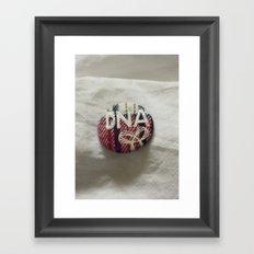 TNA in my DNA? Framed Art Print