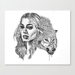 Angua von Überwald Canvas Print