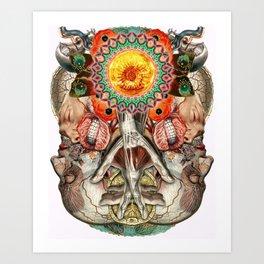 Losing the Human Form (Part 2) Art Print