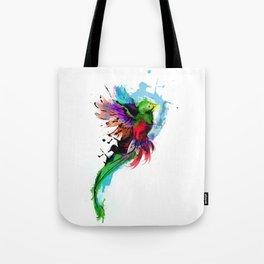 Watercolor Quetzal  Tote Bag
