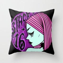 Stacy 16 Legacy Logo Throw Pillow