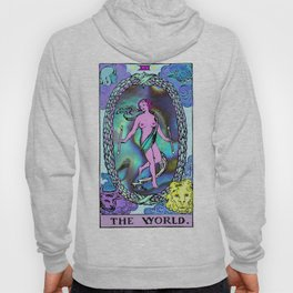 Tarot The World Hoody