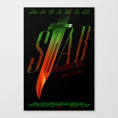 Stab (Movie Poster) Canvas Print