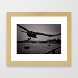 Dark Point Framed Art Print
