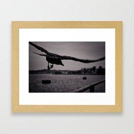 Dark Point Framed Art Print
