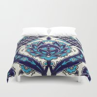 moroccan Duvet Covers featuring Moroccan by Faith Dunbar