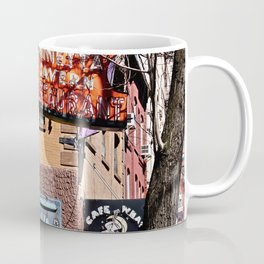 Signs of Greenwich Village, NYC Coffee Mug