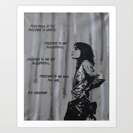Women of Punk - Patti Smith Art Print