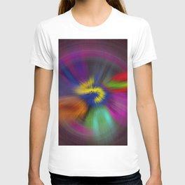 color circulo T-shirt