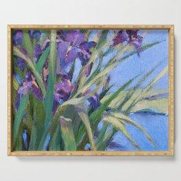 Sun Day—Iris Serving Tray