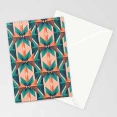 Low Poly Desert Bloom Stationery Cards
