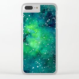 galaxy no.3 Clear iPhone Case