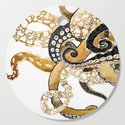 Metallic Octopus by spacefrogdesigns