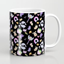 Star vs the Forces of Evil Pattern ( black ) Coffee Mug