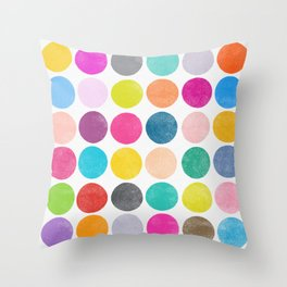 colorplay 15 Throw Pillow