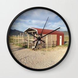 Fowl Language Wall Clock