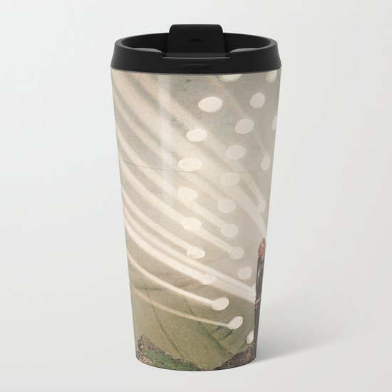 the light pours out of me Metal Travel Mug