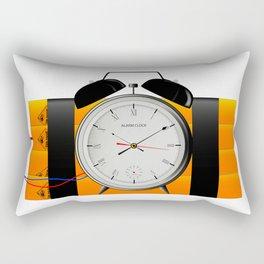 Time Bomb Rectangular Pillow