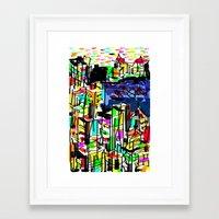 tokyo Framed Art Prints featuring tokyo by sladja