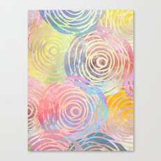 Summer Pattern Canvas Print