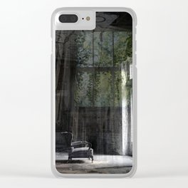 The Chair Clear iPhone Case