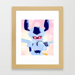 Sparkly Rokusho Framed Art Print