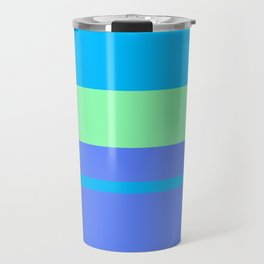 Retro Blue Surf Travel Mug