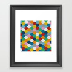 Honeycomb 3 Framed Art Print