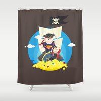 goonies Shower Curtains featuring Sloth love Chunk! by steeeeee