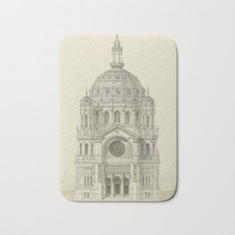 Church of St. Augustine Paris Bath Mat
