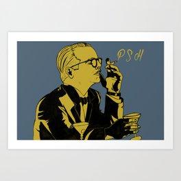 Philip Seymour Hoffman as Capote Art Print