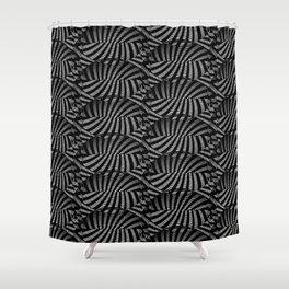 Zebra Herd Shower Curtain