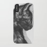 sam smith iPhone & iPod Cases featuring Sam by Aline Blanc