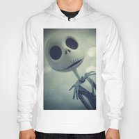 nightmare before christmas Hoodies featuring Mr. Jack (Nightmare Before Christmas) by LT-Arts