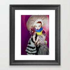 Primarily Stripes Framed Art Print