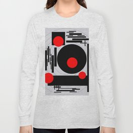 Optical Red Long Sleeve T-shirt