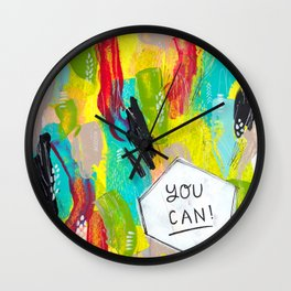 You can! Wall Clock