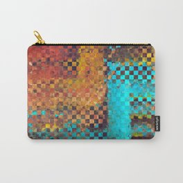 Abstract Modern Art - Pieces 1 - Sharon Cummings Carry-All Pouch
