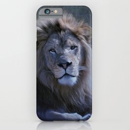 African Lion Named Hasani iPhone Case