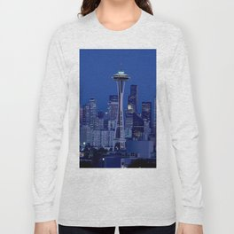The Space Needle Seattle Icon Long Sleeve T-shirt