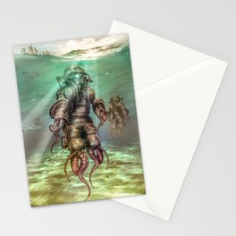 Aquanauts - Tales from under the sea Stationery Cards